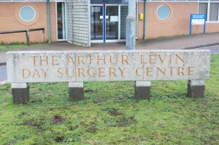 Arthur Levin Day Surgery Centre Sign