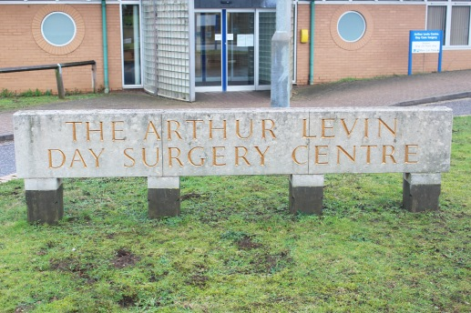 Arthur Levin Day Surgery Centre Sign