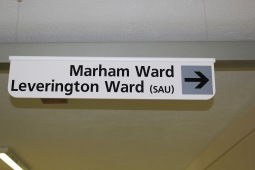 Marham & Leverington - Sign