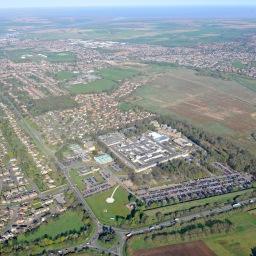 QEH Aerial View 2