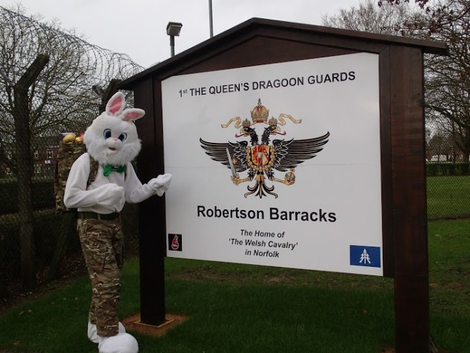 Queens Dragoon Guards Walk for Roxburgh