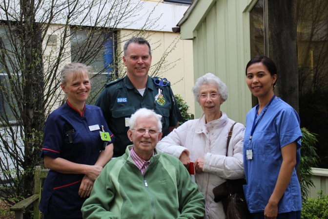 Diamond Couple Support The Queen Elizabeth Hospital and Ambulance Trust