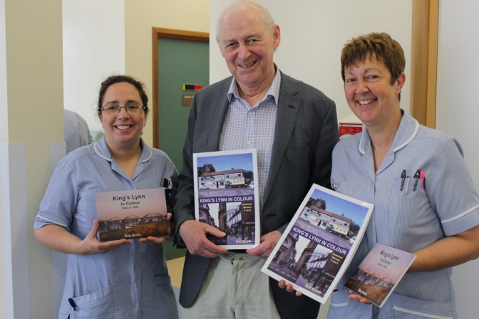 Author supports the Queen Elizabeth Hospital