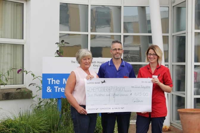 Generous Gillian supports the QEH