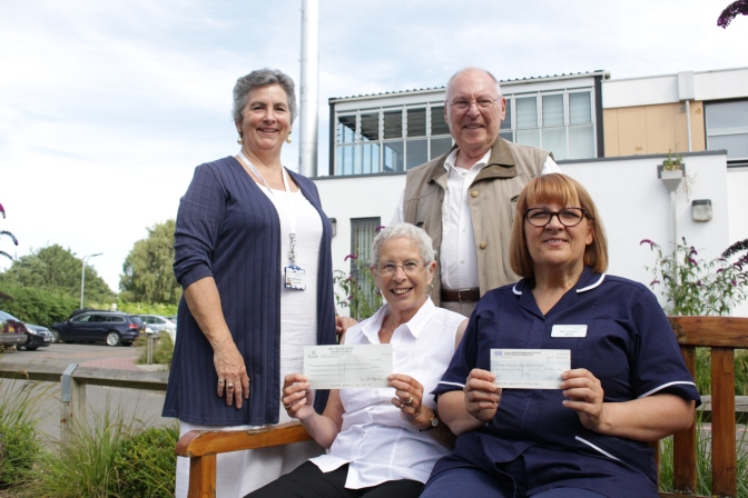 Ashwicken couple donate £1,000