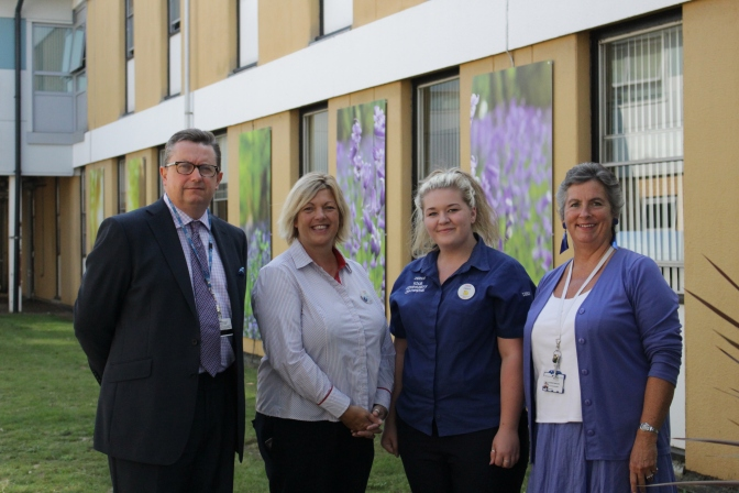 Tesco and QEH join forces on garden project