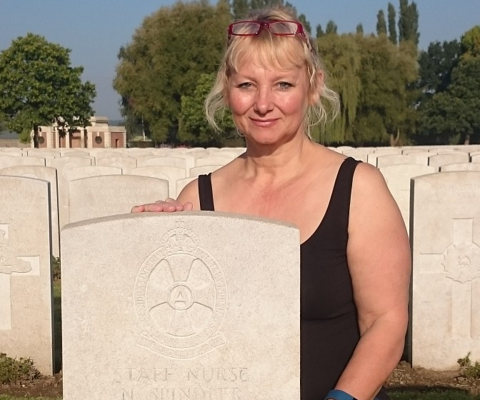 Matron pays homage to First World War Nurse who paid the ultimate sacrifice