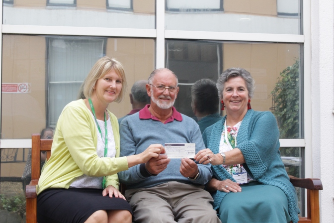 Treasured memories inspired bench donation to help others at QEH