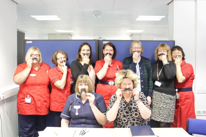QEH joins the fight against Prostate Cancer this Movember