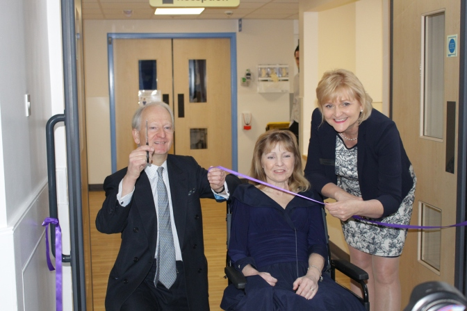 Grand opening for new Stroke Unit at the QEH