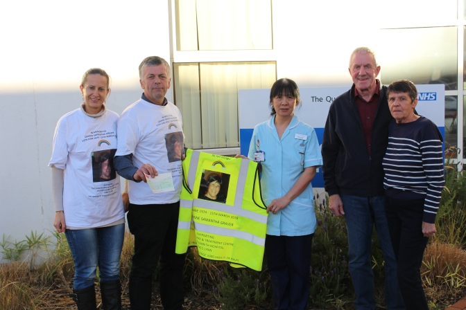 Donations in memory of Leanne
