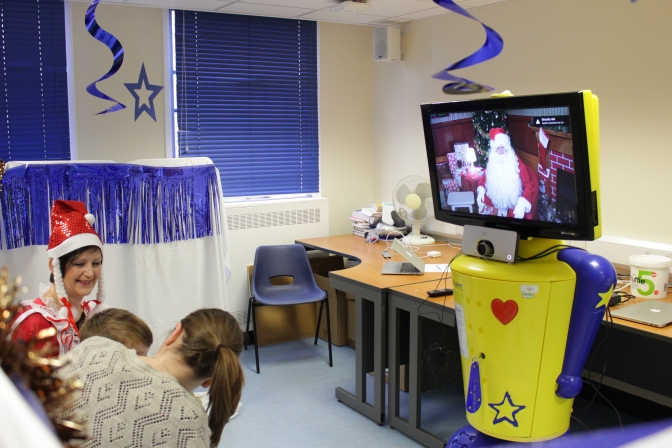 Young patients have Santa on speed dial