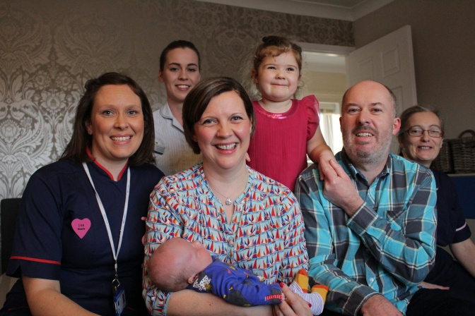 Praise for Home Birth service from new mother