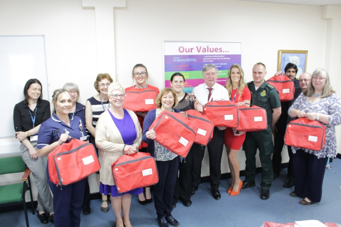 Bagging a new initiative to help enhance emergency care