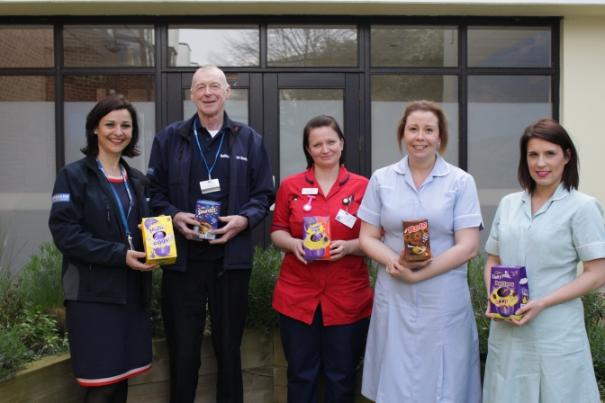 Egg-celent donations for QEH patients