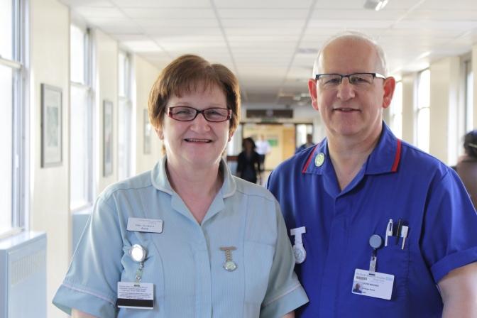 Nurses Day helps to celebrate QEH's Nursing Superheroes
