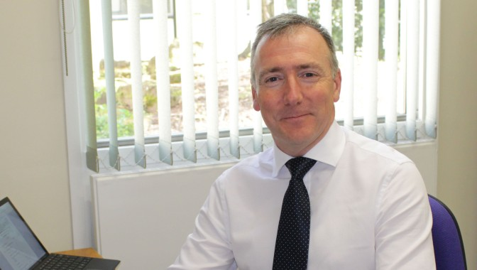 First Day for new Chief Executive