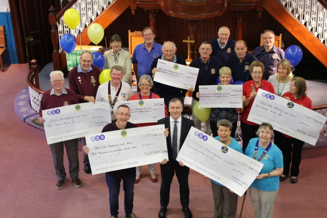 Pride as Lions raise £16,000 to support the QEH