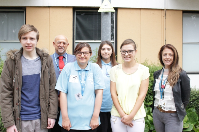 Matching new opportunities for young people at The QEH