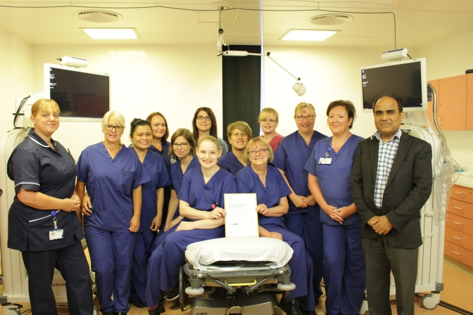 Endoscopy Units celebrate new JAG status
