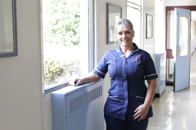 Getting up and dressed is best says King's Lynn matron