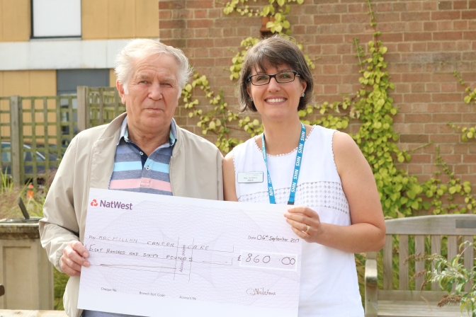 Generous Grandfather donates £900 to QEH