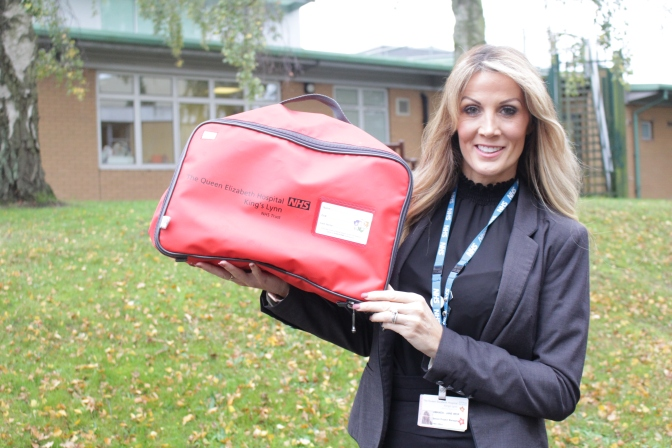 More care homes are urged to join in the Red Bag scheme