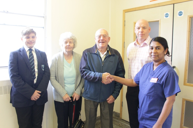 Desmond honoured with ITU donation