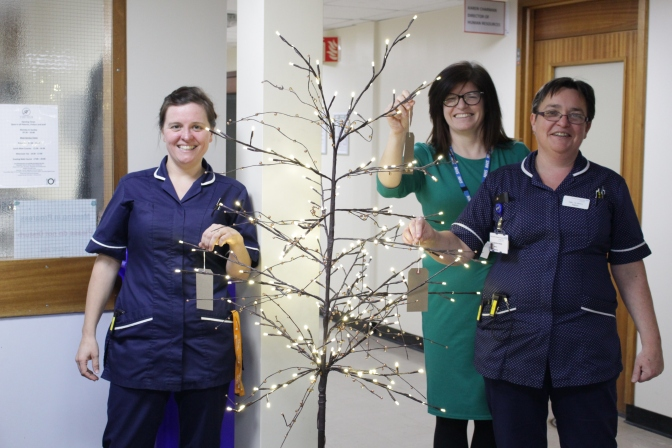 Tree-mendous way to show your thanks and support to Hospital staff