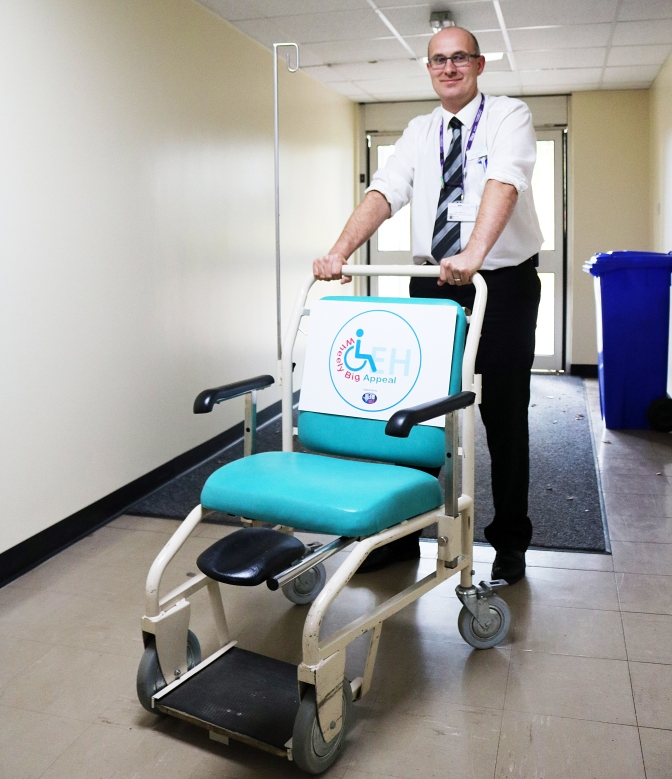 The Queen Elizabeth Hospital's off to a 'Wheely' good start
