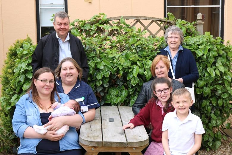 Alfie Plumb family