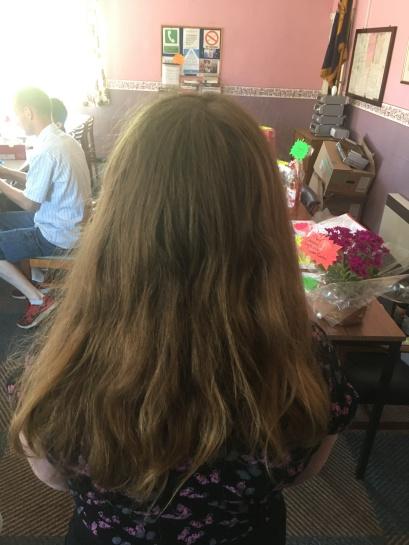Chloe Richardson long hair
