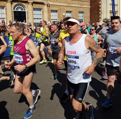 Steve Arlington running