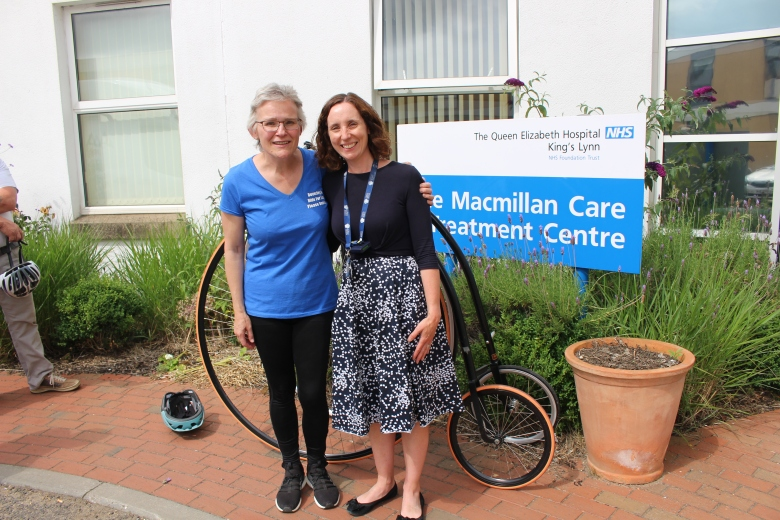 Beverley Wakfield and Dr Nicola Ainsworth