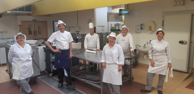 Catering Team with Galton